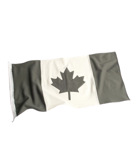Canadian Flag - Grey