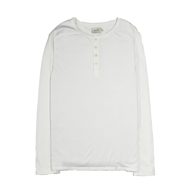 Basis LS Henley - Off White