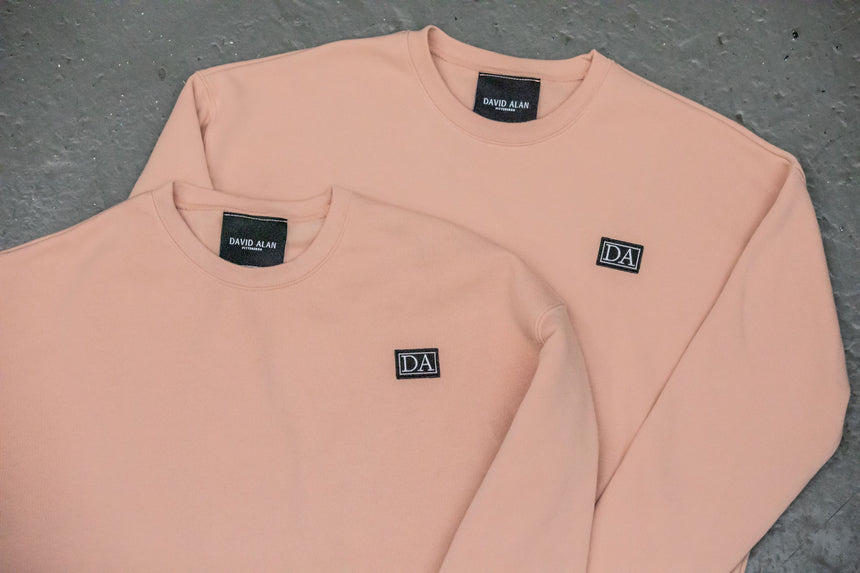 Drop Shoulder Long Sleeve Crew Neck