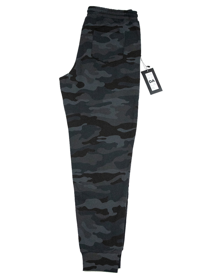 Black Camo Jogger Relaxed Fit