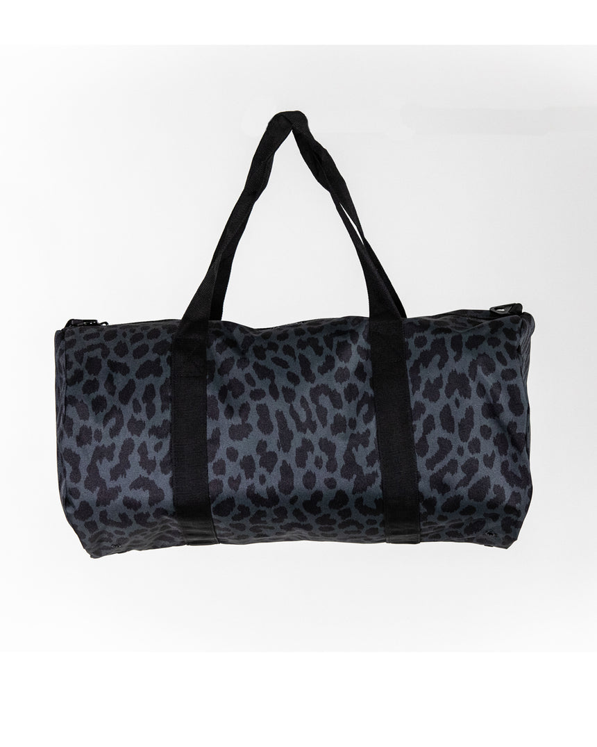 Black Cheetah Duffle