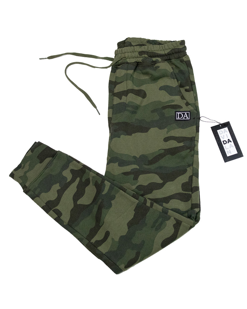 Green Camo Jogger Relaxed Fit