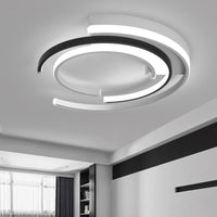 "15 3/4"" to 19 3/4"" Wide Multi-Circular Dimmable LED Ceiling Light - Avenila - Interior Lighting, Design & More"