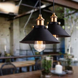 "1Pcs Black 8 3/4"" Wide Vintage Adjustable Industrial Pendant Light - Avenila - Interior Lighting, Design & More"