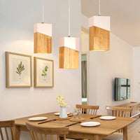 1pcs Woodly Modern Hanging Pendant Lights - Avenila - Interior Lighting, Design & More