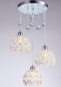 20cm Diameter Crystal Pendant Chandelier - Avenila Select - Avenila - Interior Lighting, Design & More