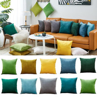 26 Colors Pillow Cover Velvet Cushion Cover For Living Room Sofa 45*45 - Avenila - Interior Lighting, Design & More