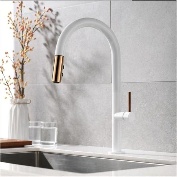360 Degree Pull Out Luxury Kitchen Faucet - Avenila - Interior Lighting, Design & More
