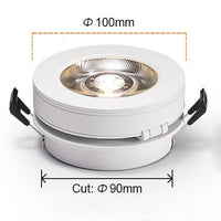 360-degree Ultrathin Downlight Ceiling Recessed Lighting - Avenila - Interior Lighting, Design & More