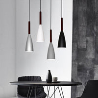 "9 1/2"" Wide Aluminum & Wood Pendant Light - Avenila - Interior Lighting, Design & More"