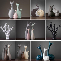 Animal Figurines Home Decoration Accessories Nordic Vintage Home Decor Ornaments - Avenila - Interior Lighting, Design & More