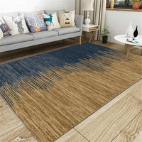 Anti-Slip Area Rug, Blue & Gold - Avenila Select - Avenila - Interior Lighting, Design & More