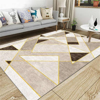 Anti-Slip Area Rug, Geometric Triangles - Avenila Select - Avenila - Interior Lighting, Design & More