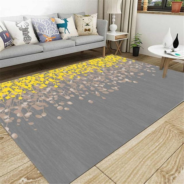 Anti-Slip Living Room Rug, Flower Petals - Avenila Select - Avenila - Interior Lighting, Design & More