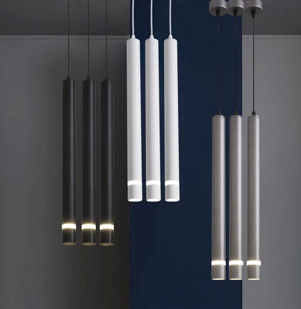 Avenila Adjustable Aluminum Modern Pendant Long Tube Island Pipe Light - Avenila - Interior Lighting, Design & More