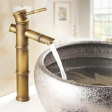 Avenila Antique Bamboo Shaped Modern Brass Hot & Cold Faucet - Avenila - Interior Lighting, Design & More