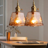 Avenila Brass Modern Glass Restaurant Pendant Lights - Avenila - Interior Lighting, Design & More