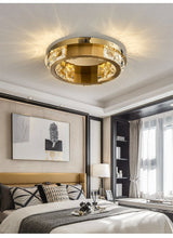 Avenila Gold Ring Round Circle Jewelry Luxury Ceiling Light - Avenila - Interior Lighting, Design & More