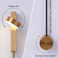 Avenila Indoor Dimmable LED Adjustable Wall Lamp - Avenila - Interior Lighting, Design & More