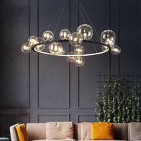 Avenila Living Room Hotel Luxury Circle Round Bubble Chandelier - Avenila - Interior Lighting, Design & More