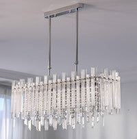Avenila Modern Crystal Chandelier For Dining Room Rectangle Home Decoration Lighting Fixtures LED Lustres De Cristal - Avenila - Interior Lighting, Design & More