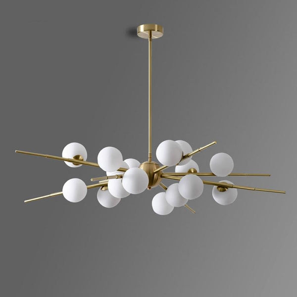 Avenila Modern LED Glass Ball Chandelier - Avenila - Interior Lighting, Design & More