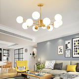 Avenila Semiflush LED Modern Ball Chandelier - Avenila - Interior Lighting, Design & More