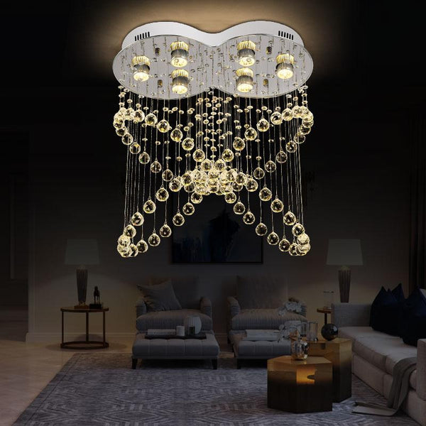Beautiful Luxury Crystal Butterfly-Shaped Design Chandelier - Avenila - Interior Lighting, Design & More