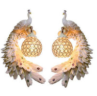 Bohemian Peacock Luxury LED Crystal Wall Lamp - Avenila - Interior Lighting, Design & More