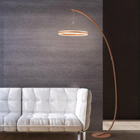 Coffee Acrylic Home Living Room Floor Lamp - Avenila - Interior Lighting, Design & More