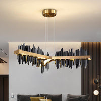 Copper Steel New Black Gold Luxury Chandelier - Avenila - Interior Lighting, Design & More