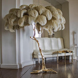 Designer Modern Luxury Tree Branch Feather Floor Lamp - Avenila - Interior Lighting, Design & More