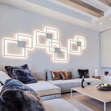 DIY LED Square/Circle Wall Lamp - Avenila - Interior Lighting, Design & More