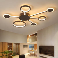 "Euro Circular 19 1/2"" to 32 1/2"" Wide Ceiling LED Light w/ 4-7 Arms - Avenila - Interior Lighting, Design & More"