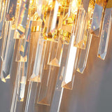Golden Crystal Modern Bedside Wall Scone Lamp - Avenila - Interior Lighting, Design & More