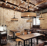 Industrial Metal Retro Vintage Rope Pendant Light - Avenila - Interior Lighting, Design & More