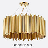 Italy Design Gold Delightfull Brubeck Chandelier - Avenila - Interior Lighting, Design & More