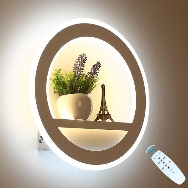 LED Wall Lamp Decoration with Dimmable Remote Control - Avenila - Interior Lighting, Design & More