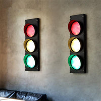 Loft Industrial Style Stoplight Wall Light - Avenila - Interior Lighting, Design & More