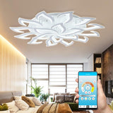 Lotus Ceiling Chandelier with Brightness Control - Avenila - Interior Lighting, Design & More
