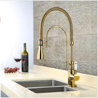 Luxury 3 Type Rose Gold Kitchen Faucet Single Handle - Avenila - Interior Lighting, Design & More