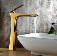 Luxury Golden Finish Washroom Faucet - Avenila - Interior Lighting, Design & More