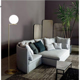 Luxury Minimalistic Gold LED Ball Floor Lamp - Avenila - Interior Lighting, Design & More