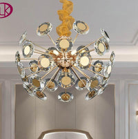 Luxury Modern Gold Crystal Chandelier Lighting For Living Room - Avenila - Interior Lighting, Design & More