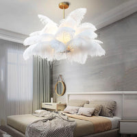Luxury Multi-Feather Chandelier Light - Avenila - Interior Lighting, Design & More