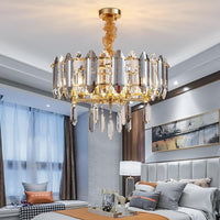 Luxury Round Crystal Chandelier Lighting for Living Room - Avenila - Interior Lighting, Design & More