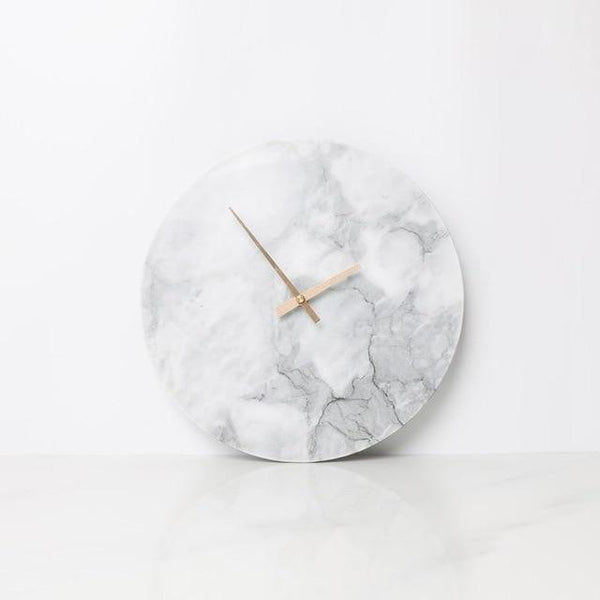 Minimalist Modern Marble Clock - Avenila Select - Avenila - Interior Lighting, Design & More