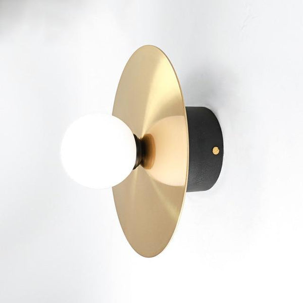 Modern Gold LED Indoor Wall Sconce Lamp - Avenila - Interior Lighting, Design & More