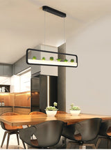 Modern LED Fake Planter Chandelier - Avenila - Interior Lighting, Design & More