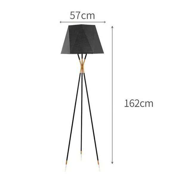 Modern LED Tripod Stand Floor Lamp with Lampshade - Avenila - Interior Lighting, Design & More